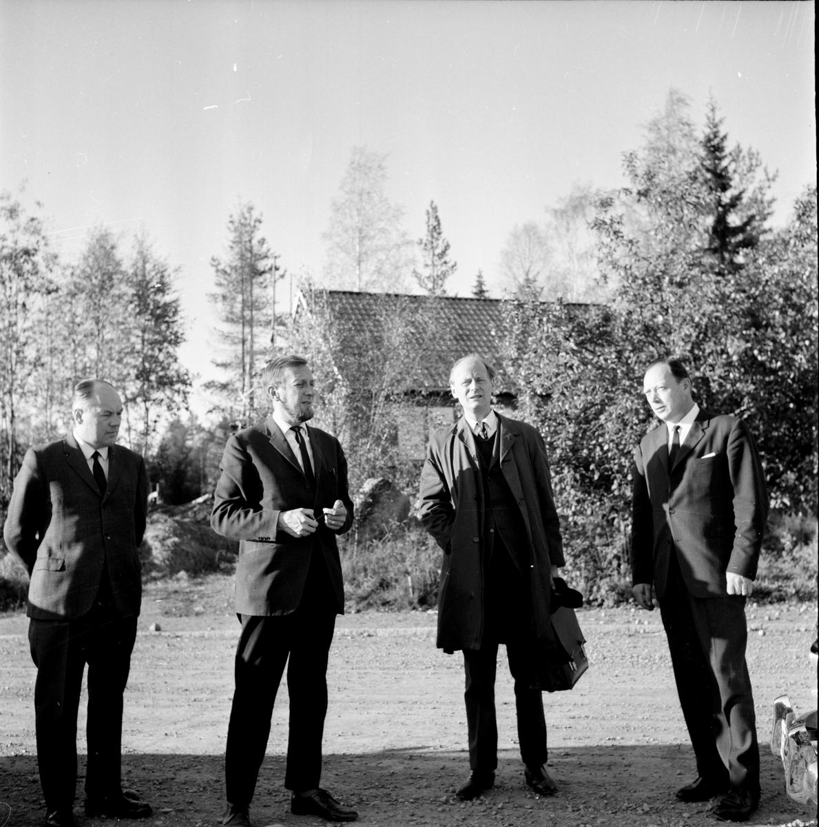 Tillhagen Carl-Herman,zigenare, i Bollnäs, 6 Okt 1964