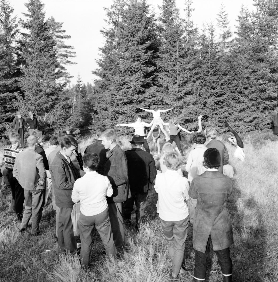 Alfta frisksportklubbs invigning av Malvikstugan. 6/10-1962