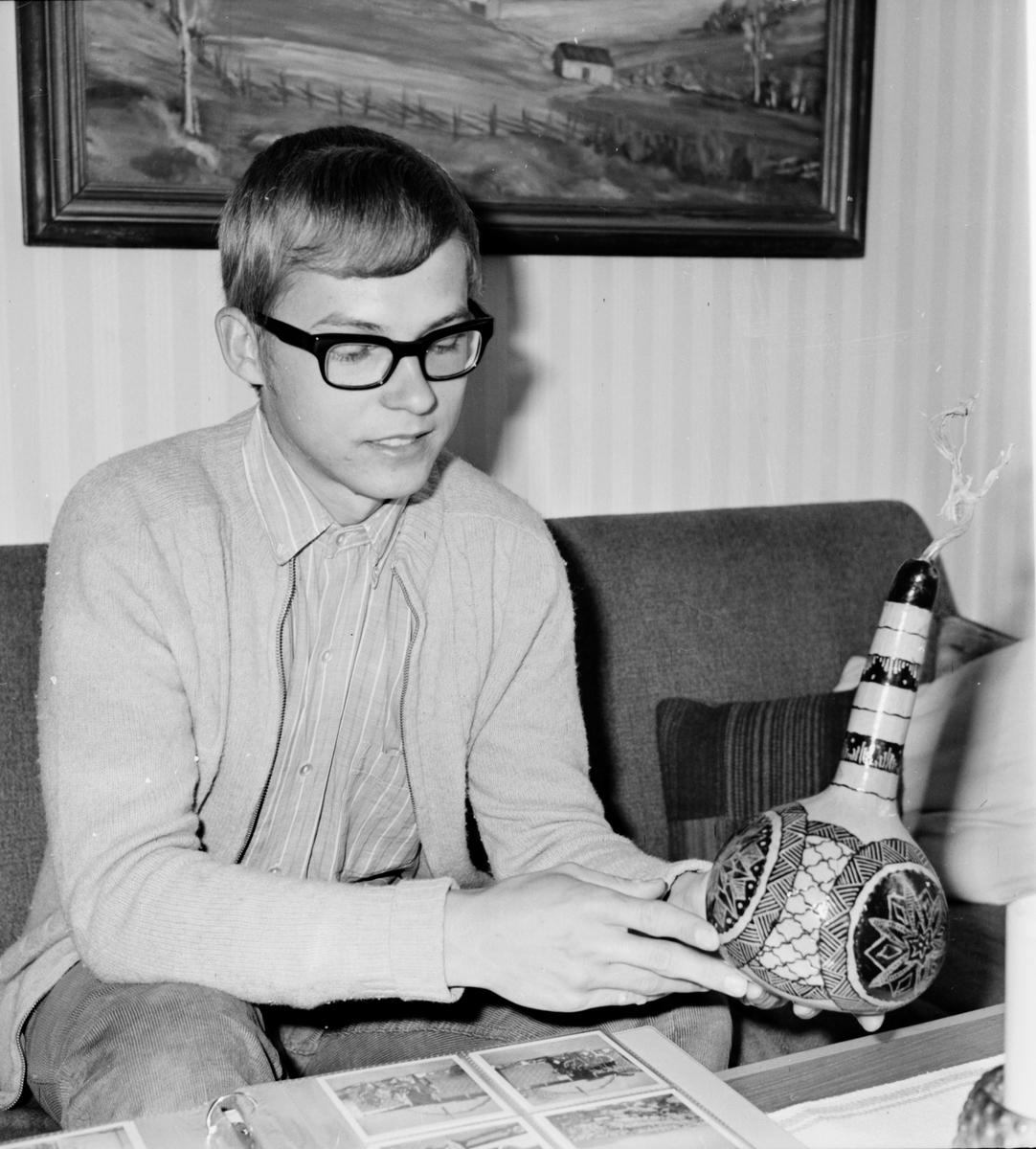 Arbrå, HansGöran Falk, Hem från Cypern, Våren 1971