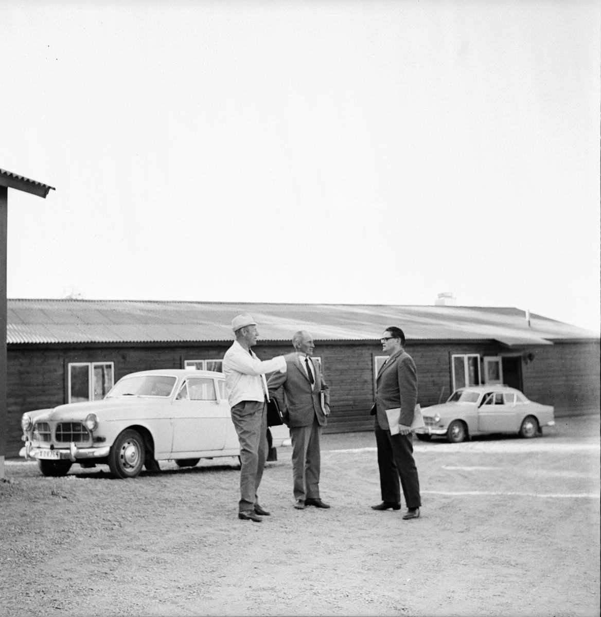Värmestugan i Orfa. Juli 1972