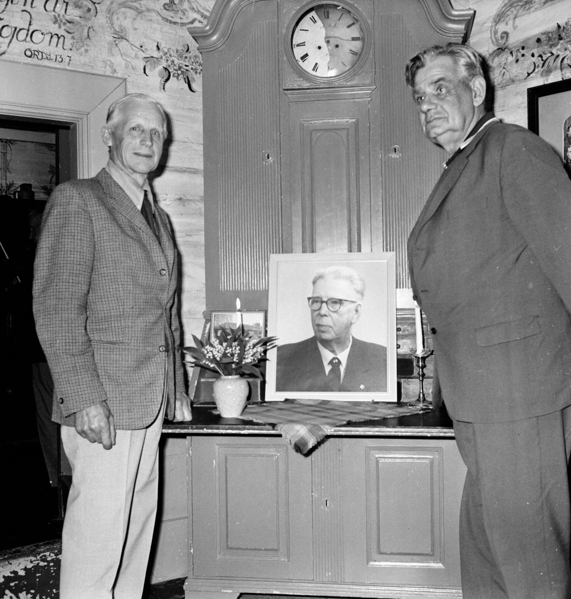 Fornhemmet. Hembygdsföreningens årsmöte. Juni 1972