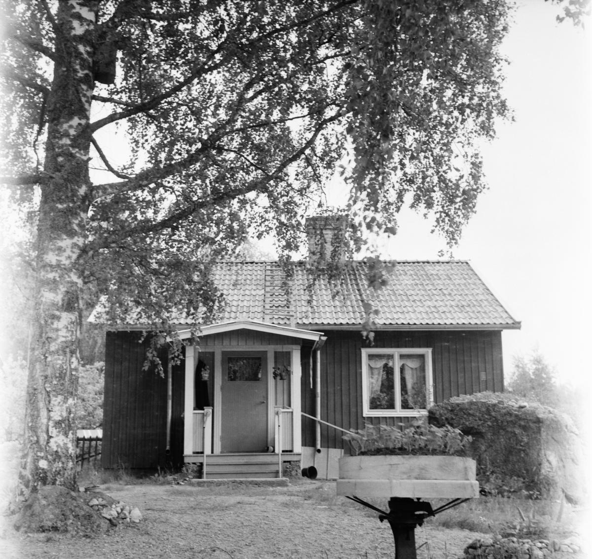 Småströmmarna. By i Skog A.Boberg 3/7 1957