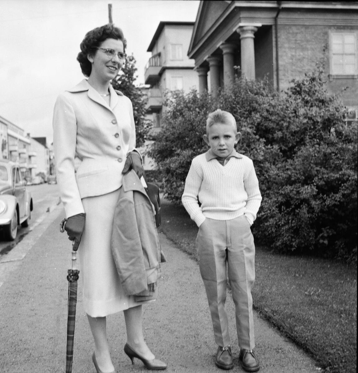 Skolan börjar 25/8 1958