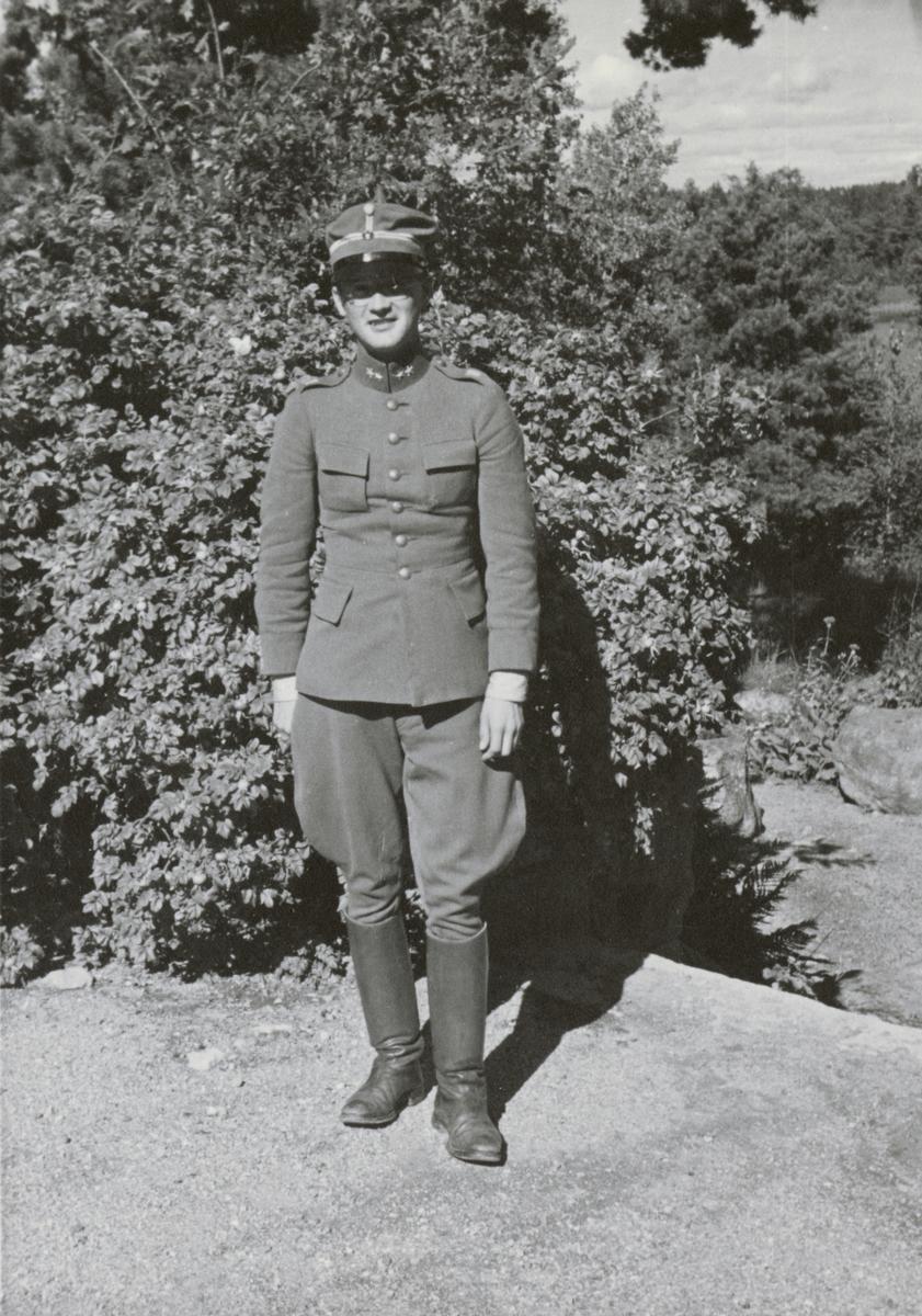Löjtnant Erik Skjöldebrand från Södermanlands regemente I 10.