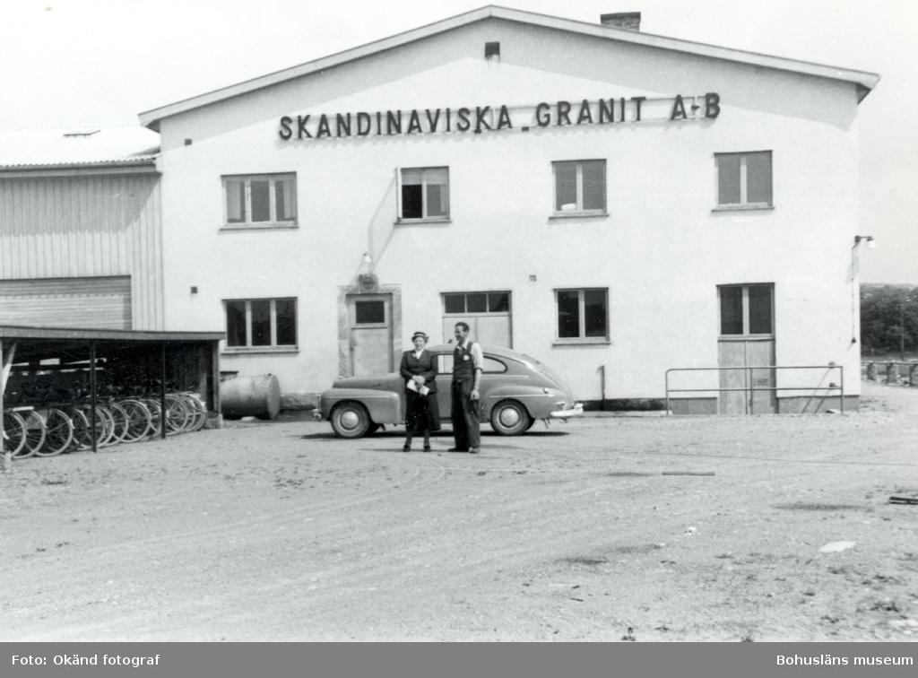 Skandinaviska Granit AB:s kontorsbyggnad