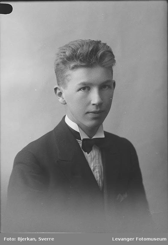 Portrett Einar Hilderim.