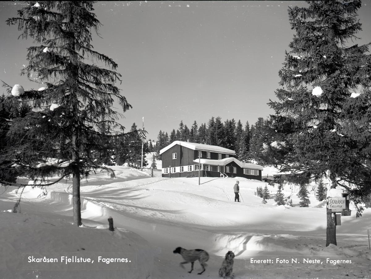 Skaråsen fjellstue, Fagernes.