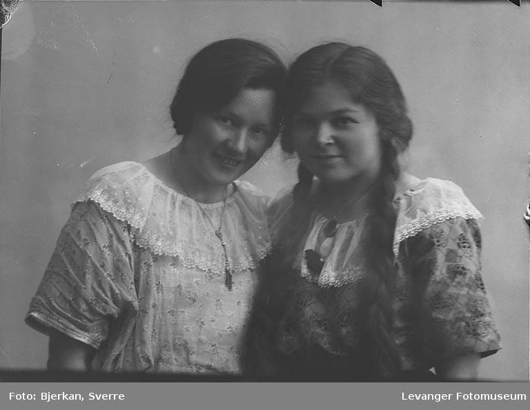 Portrett av Otterholen og Saltnes fornavn ukjent på beggePortrett
