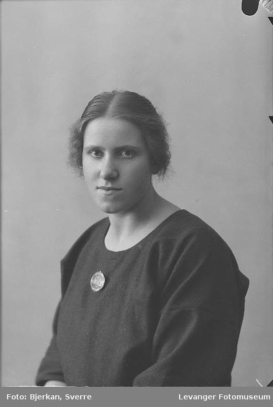 Portrett av Ingrid Kalnes