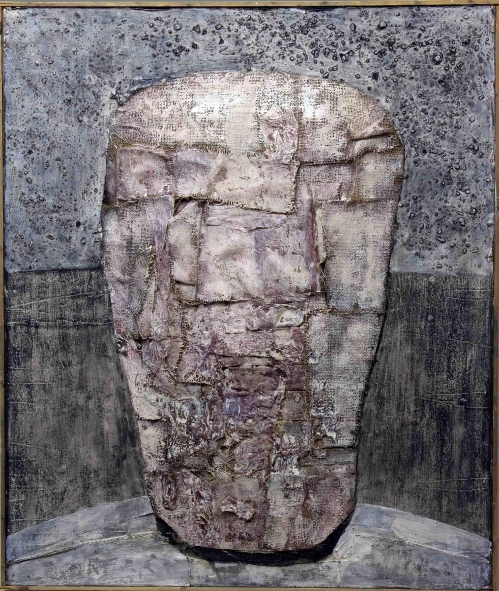 Gammel mann i kroken [Materialbilde]