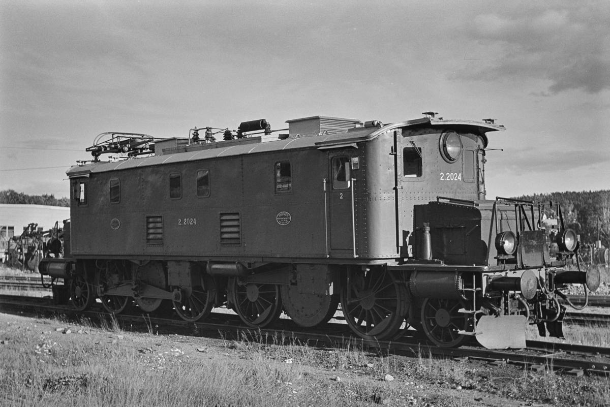 elektrisk lokomotiv type El 2 nr. 2024 på NSBs verksted på Grorud.