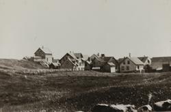 Hasseløy sett mot sydost ca.1890
