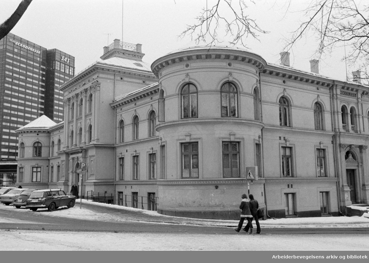 """St.Olavs gate. """"Norges geografiske oppmåling"""". Januar 1978"""