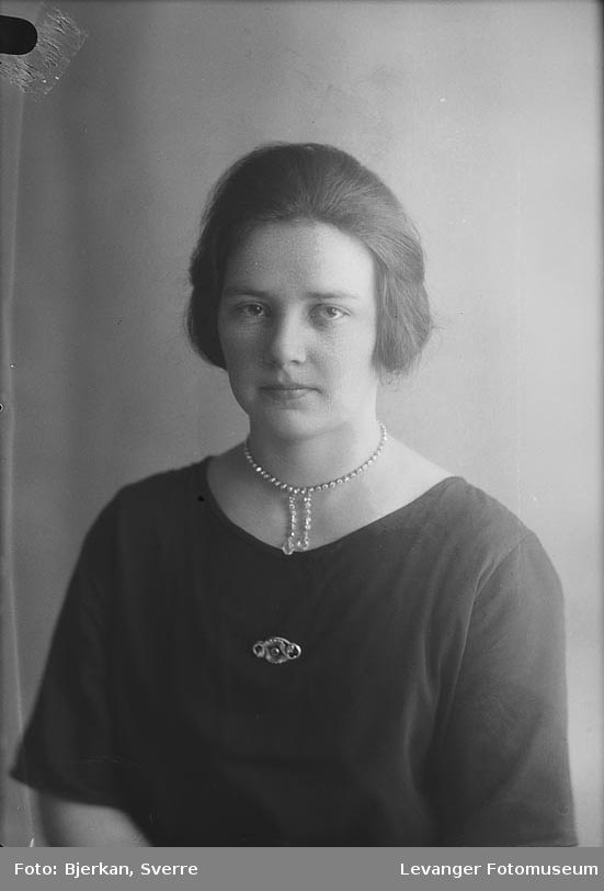 Portrett av Emma Vonheim