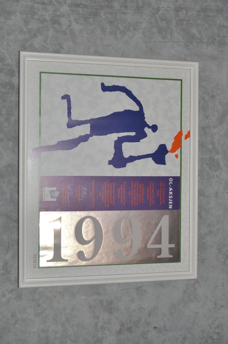 Innrammet bilde av Ol-aksje 1994, nr. 015616