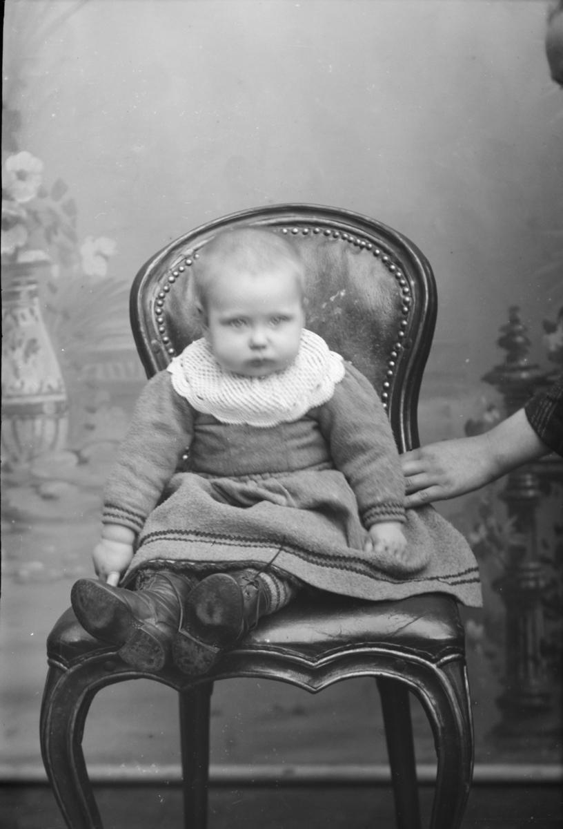 Portrett av Ragna Linløkkens barn.