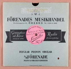 Miss Anna bella lee. Lennart Johanssons Orkester