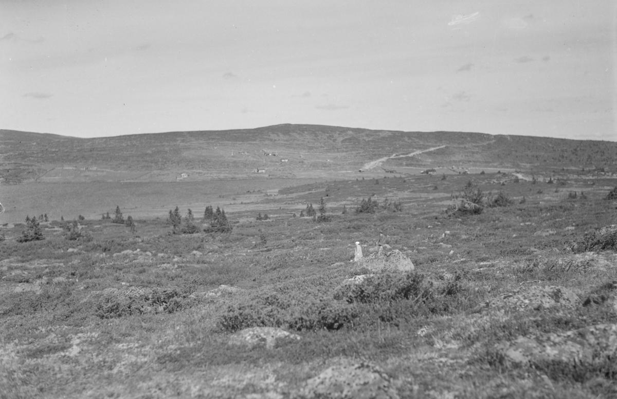 Utsikt fra Nevelåsen mot Reina på Nordseter.