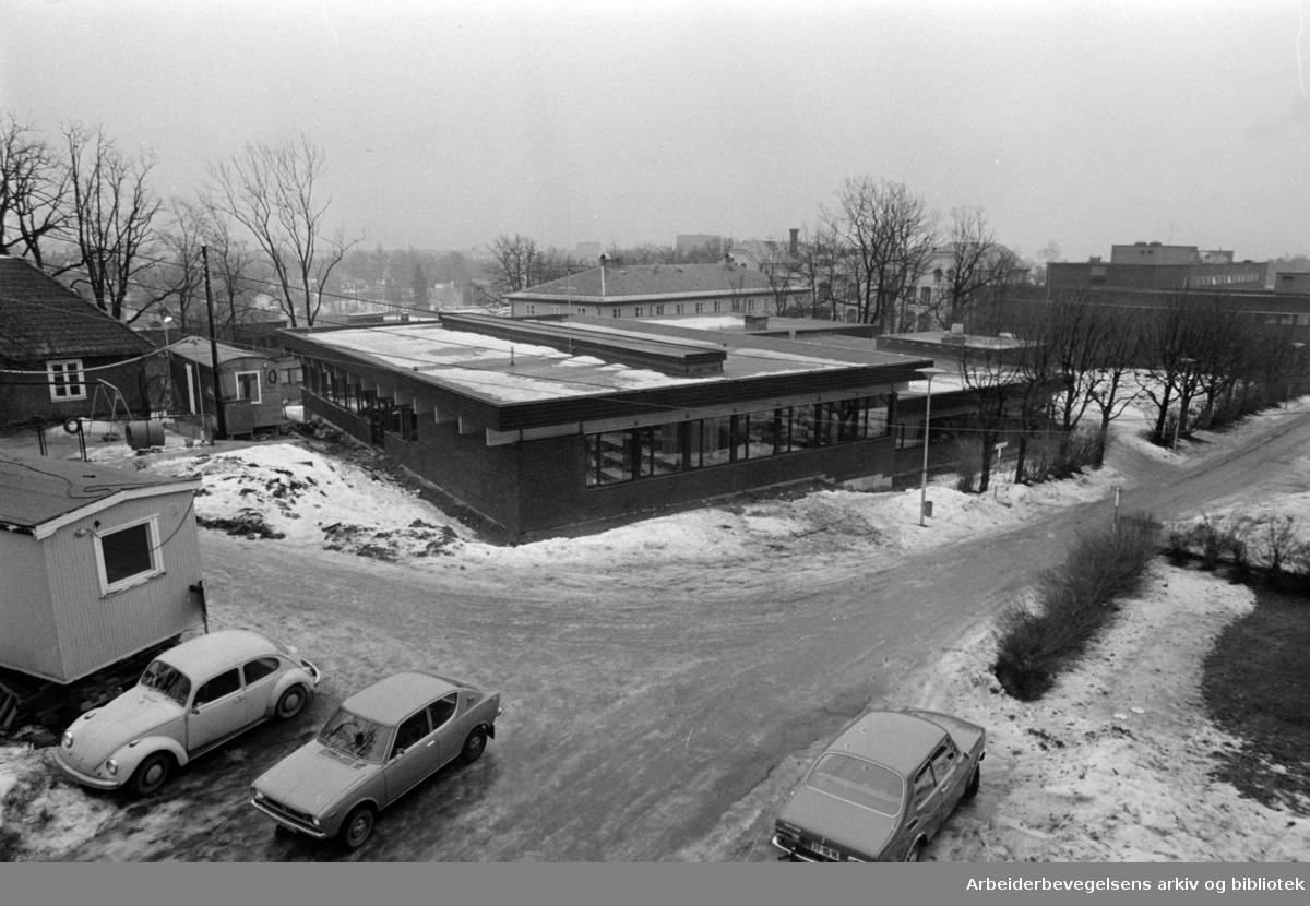 Vindern. Diakonhjemmets spesialskole. Februar 1974