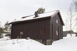 Svalgangsbygningen. Foto: Thore Bakk, Follo museum/MiA