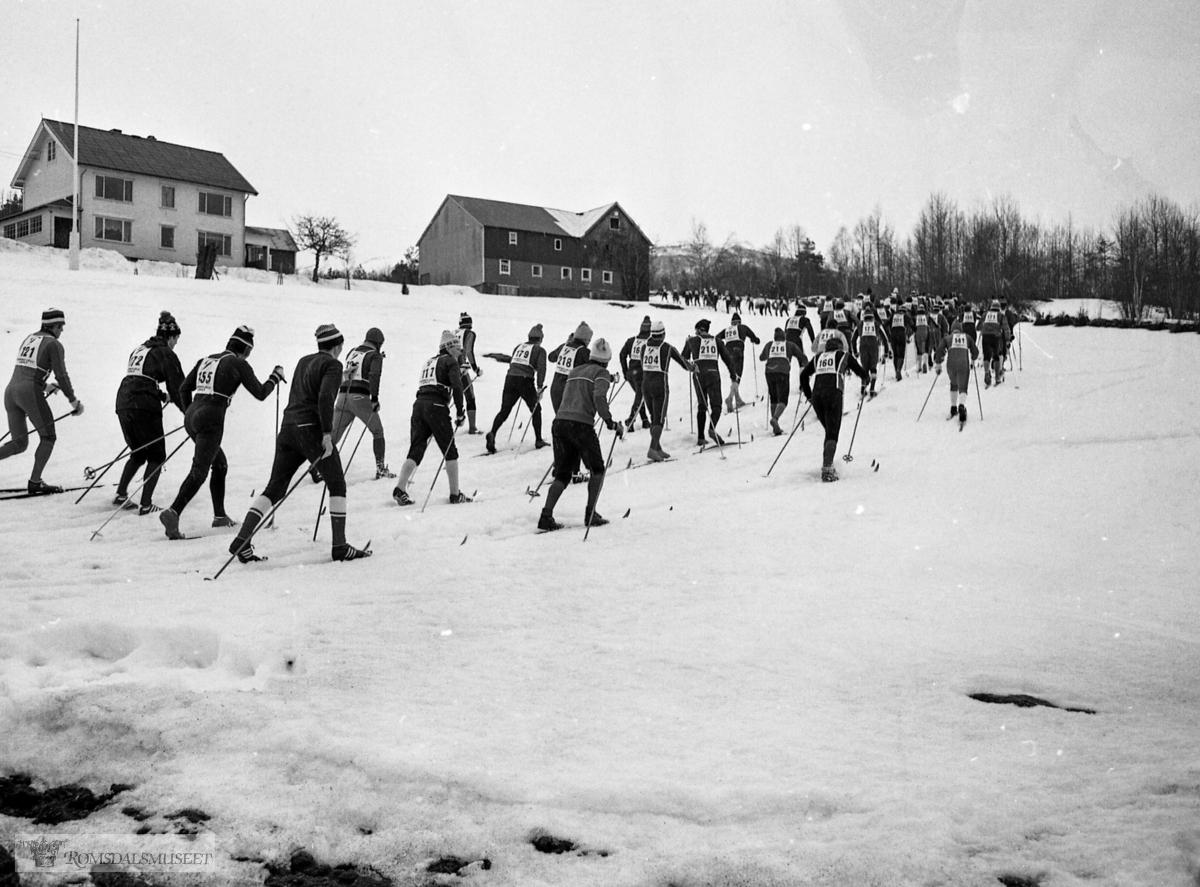 Fannefjellsløpet i 1978. Trykt i RB 13.03.1978.