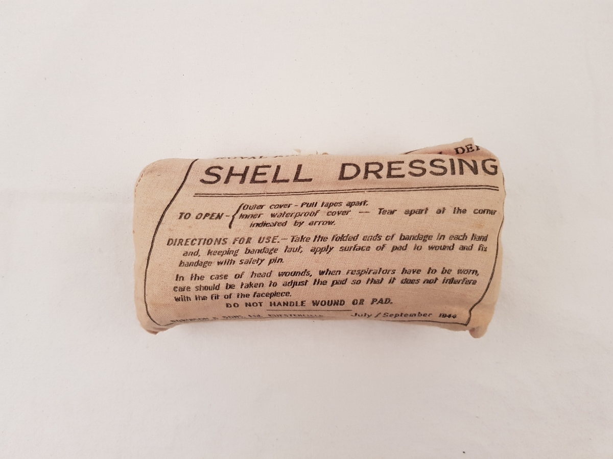 Bandasje i original forpakning.