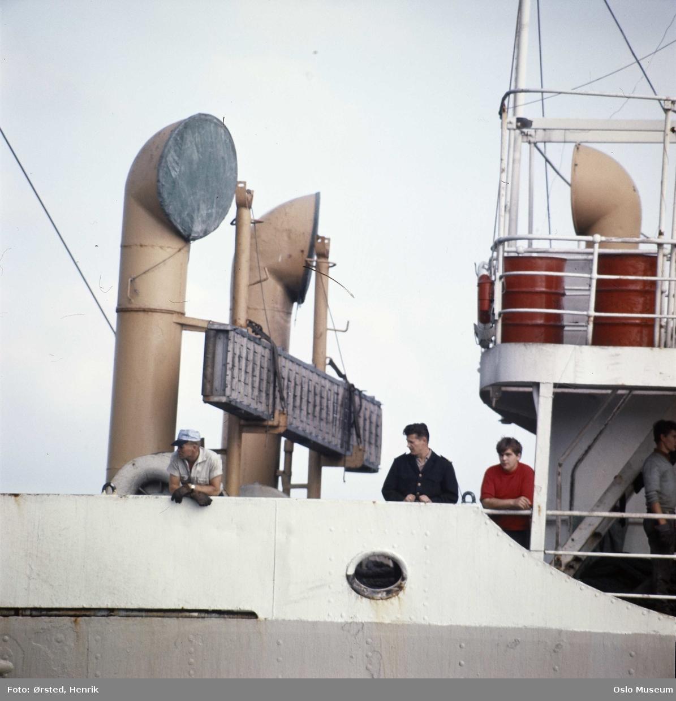 skip, dekk, mannskap