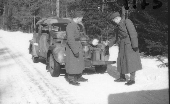 Kohlstedt, sergeant, A 6. Marsch mot Jönköping.