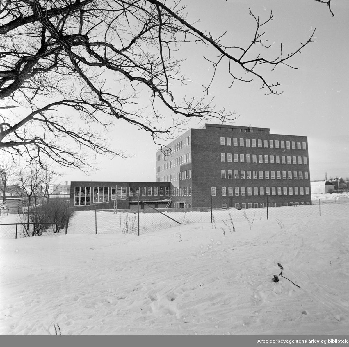 Yrkeshygienisk Institutt. Januar 1963