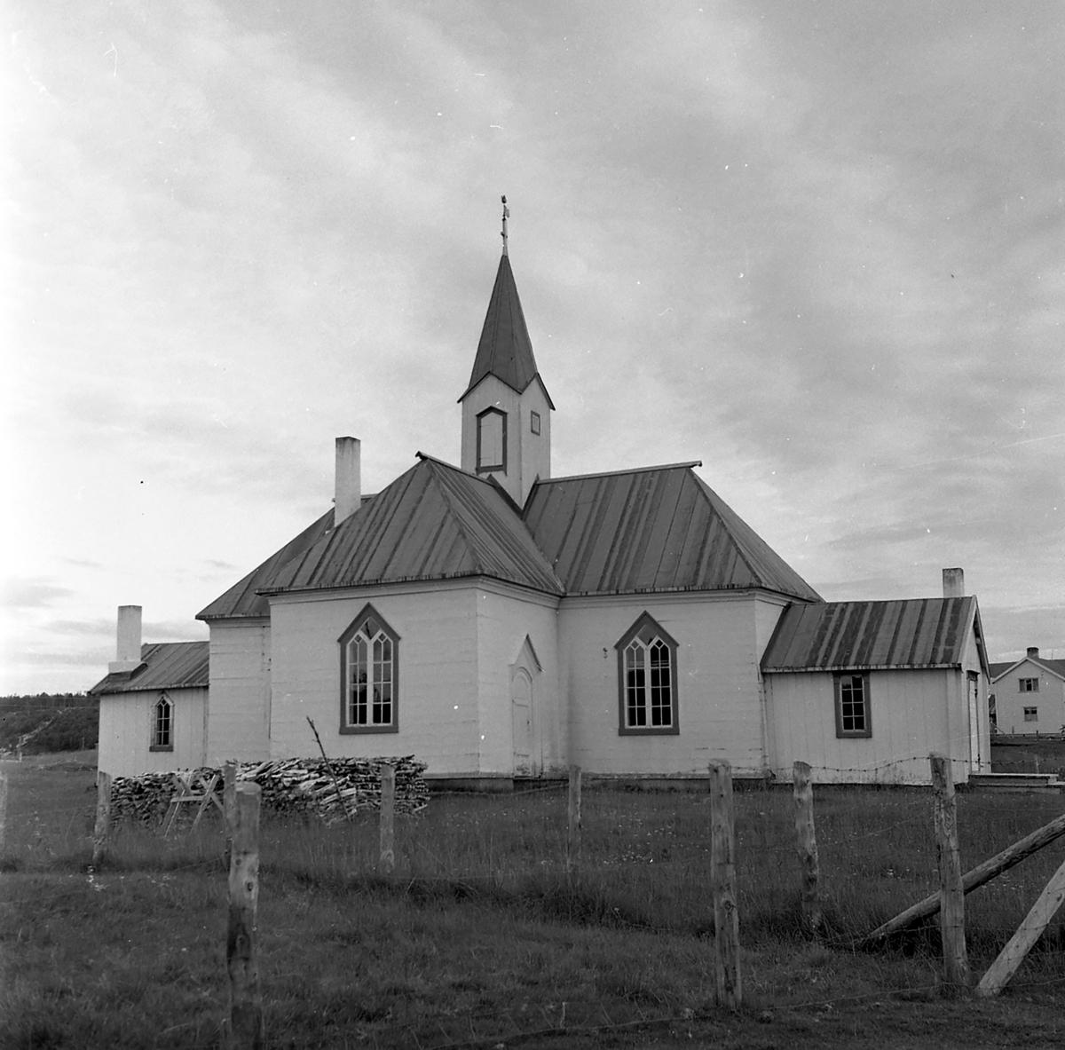 Kirken i Karasjok,bygget 1807