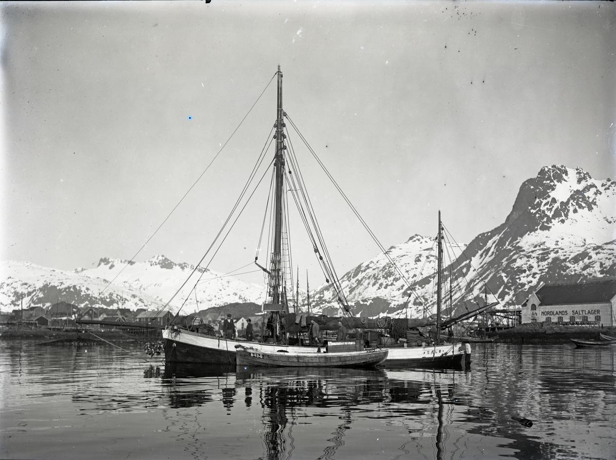 Skøyte 'Sælø' Sjark reg. N49G