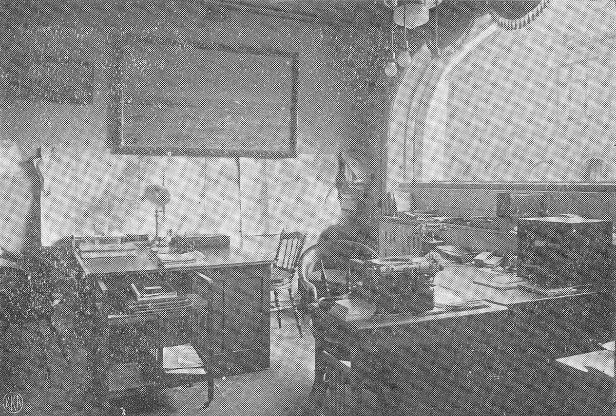 Deler av kontorlokalene til Chr. Steffensen i Kirkegt i Ålesund ?