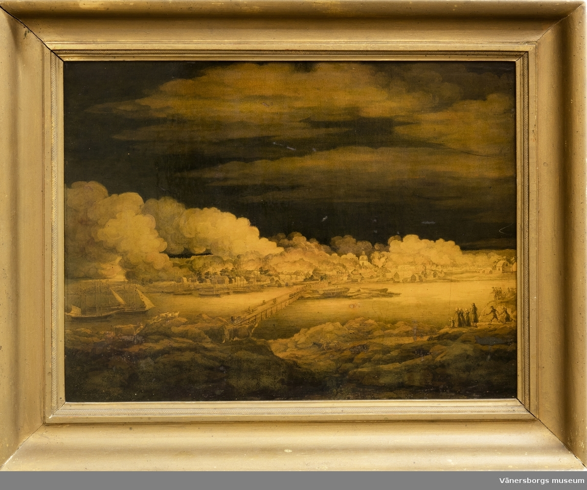 Vänersborgs stadsbrand 1834