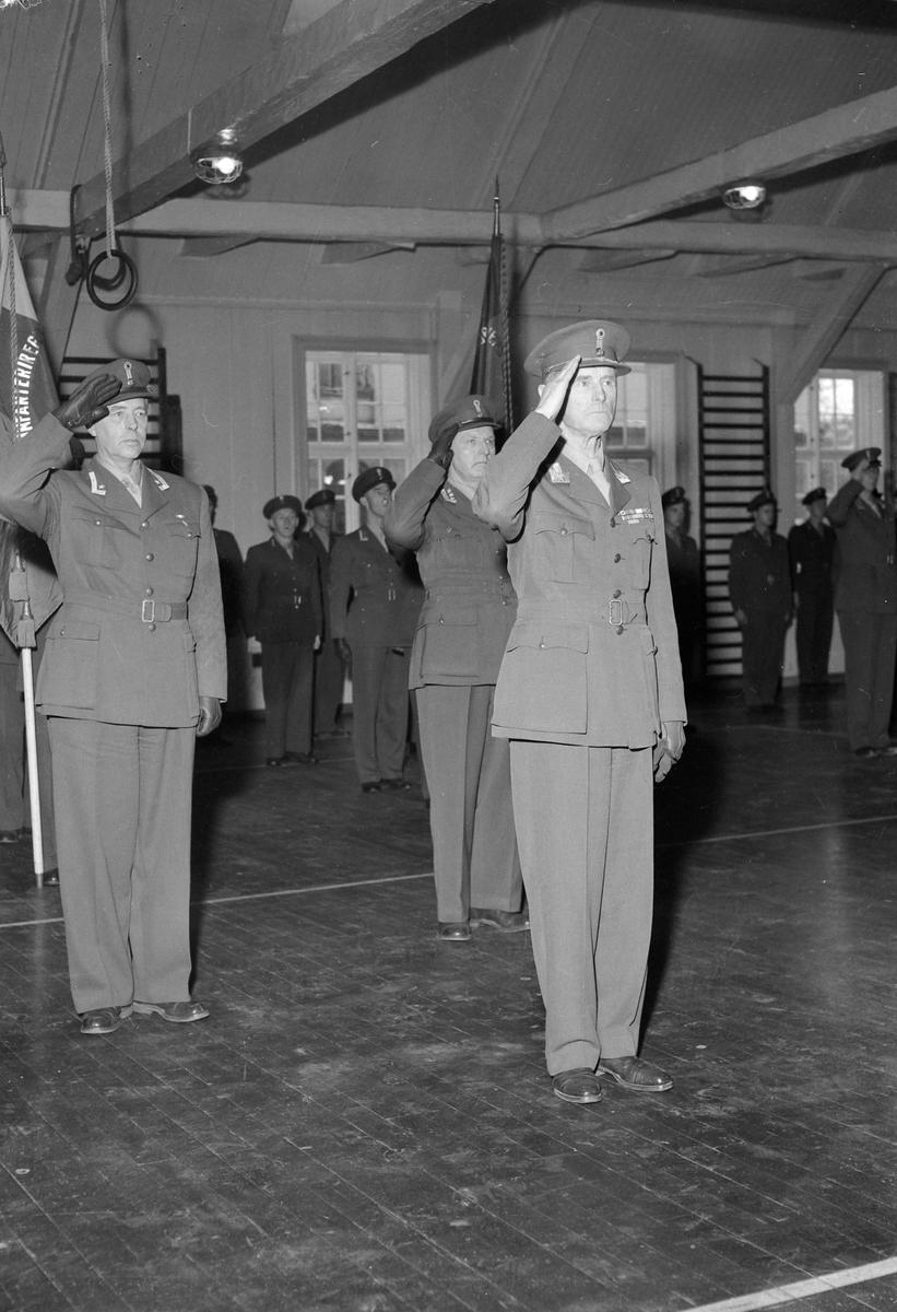 General Oscar Strugstad fratrer som sjef for Disktriktskommando Trøndelag