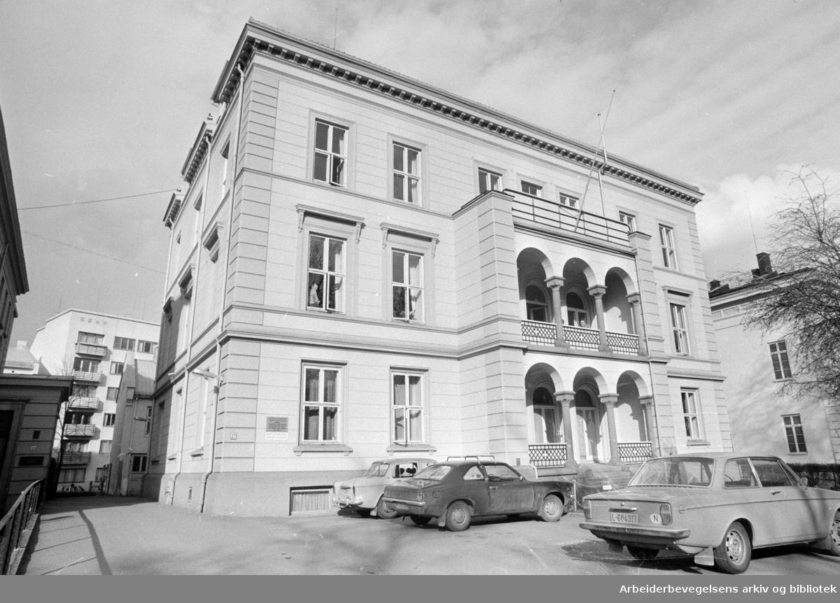 Rikshospitalet. April 1973