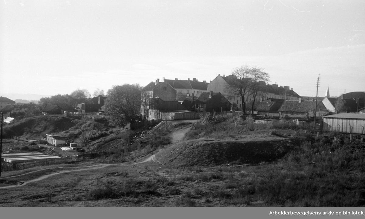 Myraløkka. 1947