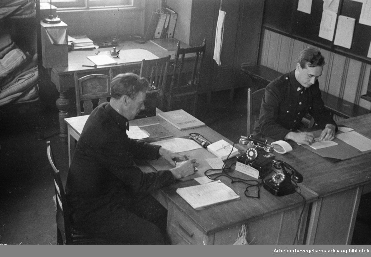 Møllergata 19. Interiør. Juni 1946