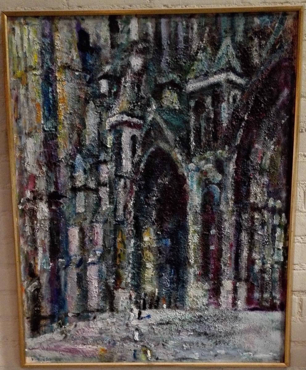 Stilisert katedral.