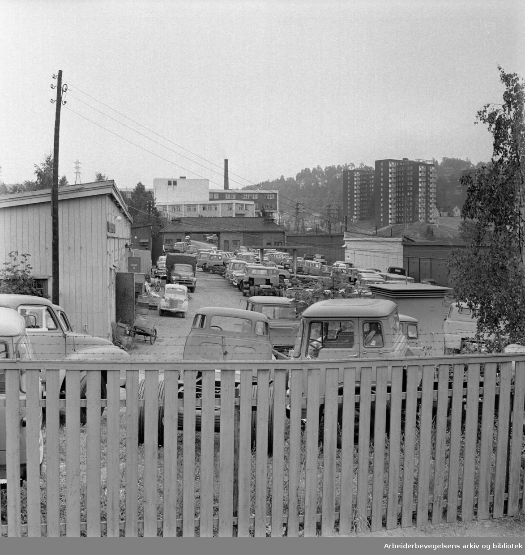 Fridtjovs gate. Vålerenga. August 1961