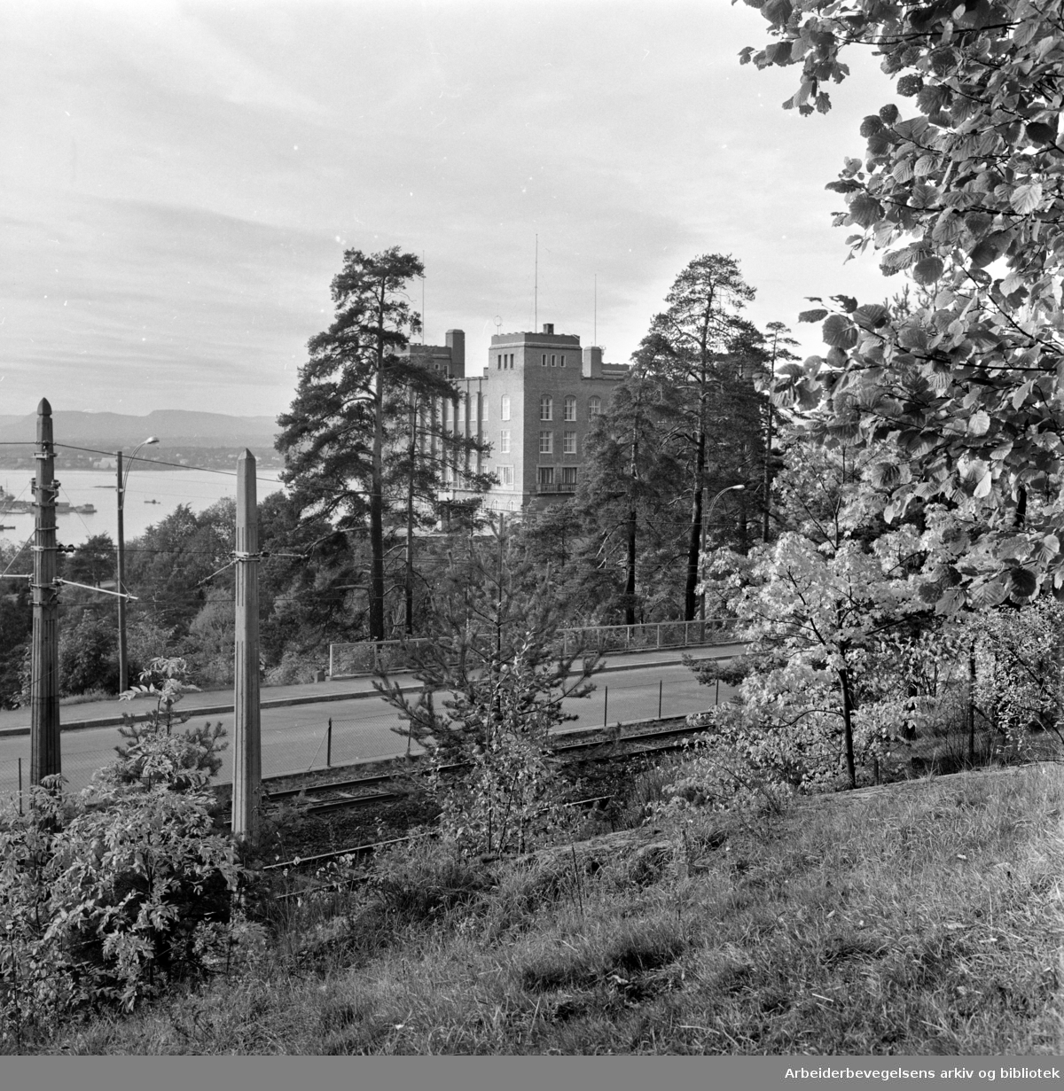 Ekeberg: Sjømannskolen. Oktober1967