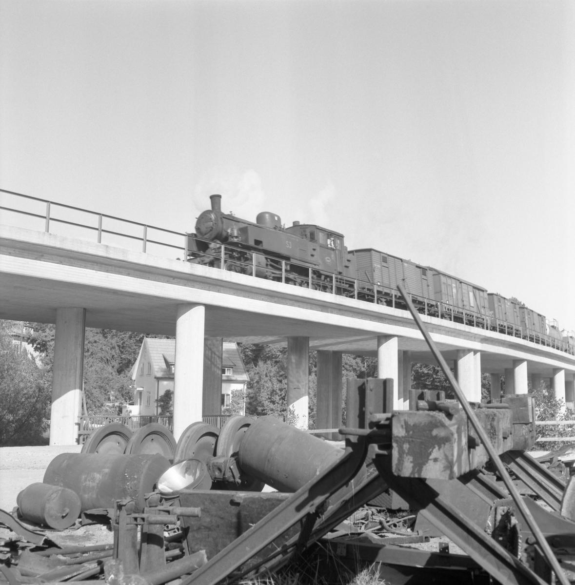 Statens Järnvägar, SJ N3 godståg.