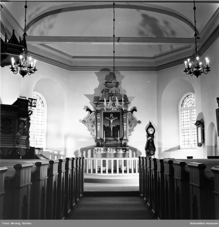 """Text till bilden: """"Håby kyrka""""."""