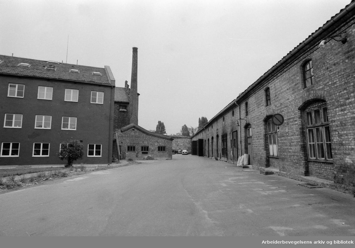Akershus Festning. Juli 1969.