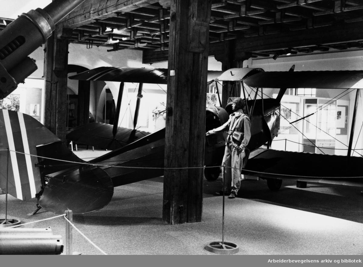 Akershus Festning, Forsvarsmuseets nye utstilling. Januar 1983