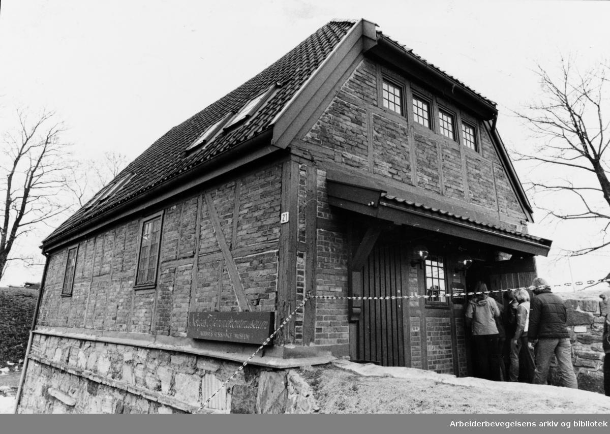 Akershus Festning, Hjemmefrontmuseet. April 1980
