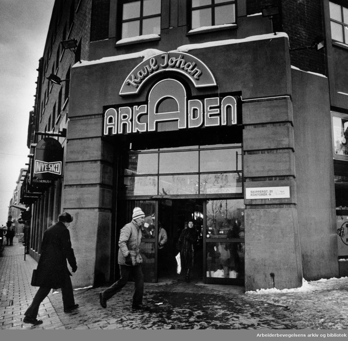 Arkaden. Desember 1986
