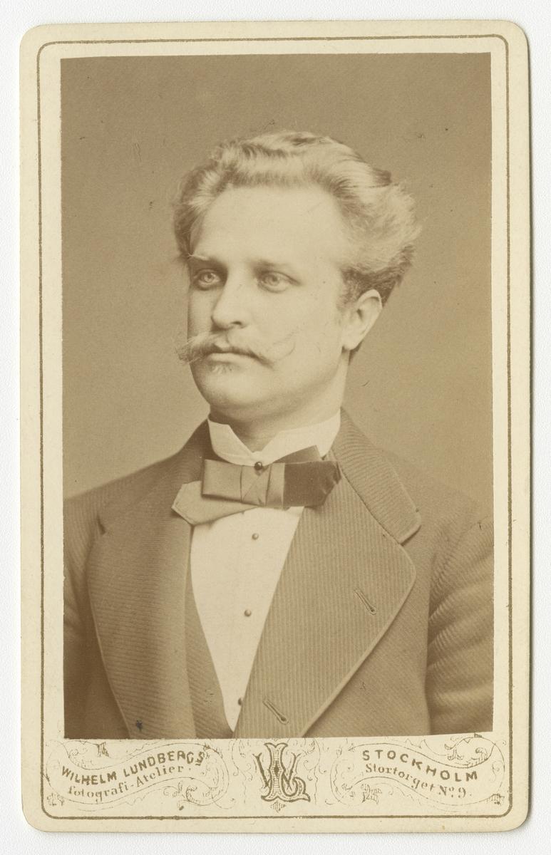 Porträtt av Ernst Konrad Abraham Fischer, officer vid Västgöta regemente I 6.
