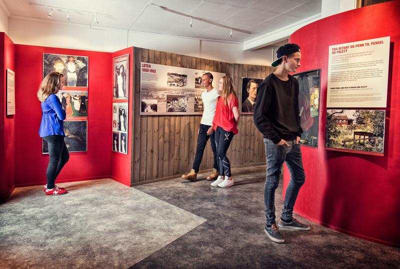 The Munch Center contains information about Munch's connection to Løten and also offers opportunities for experiences.