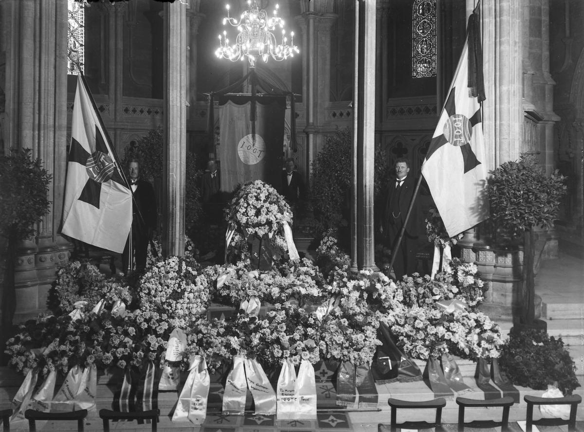 Peder Svendsens begravelse