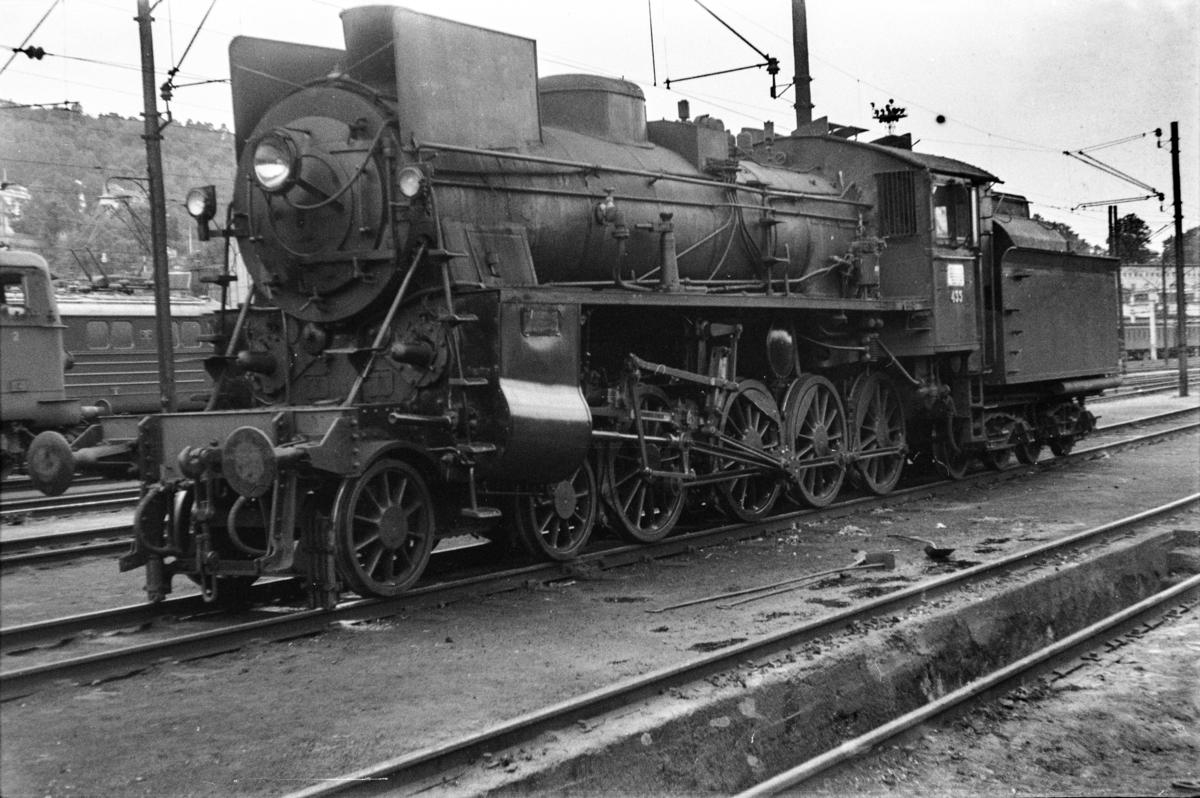 Damplokomotiv type 26c nr. 433 i Lodalen i Oslo.